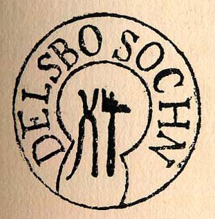 Logo för Delsbo Hembygdsförening i Delsbo
