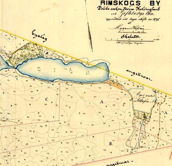 Lillsjön-karta