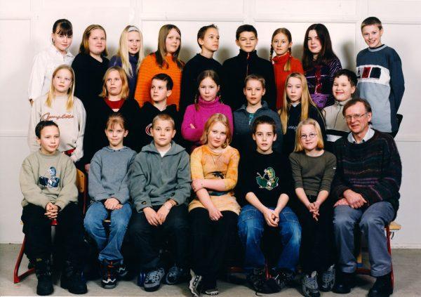 Delsbo skolkort Borgs barn 4